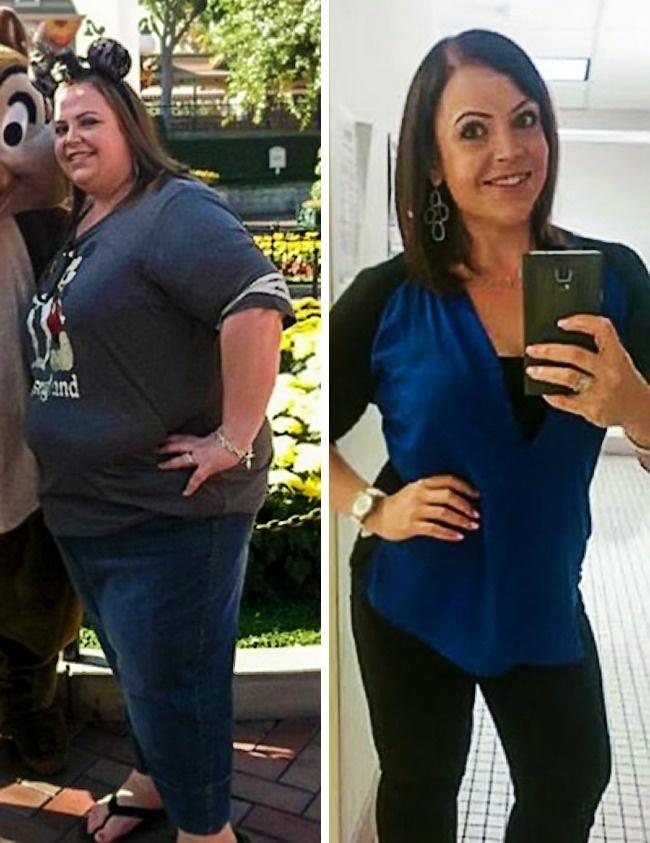 Вдохновляющая история похудения