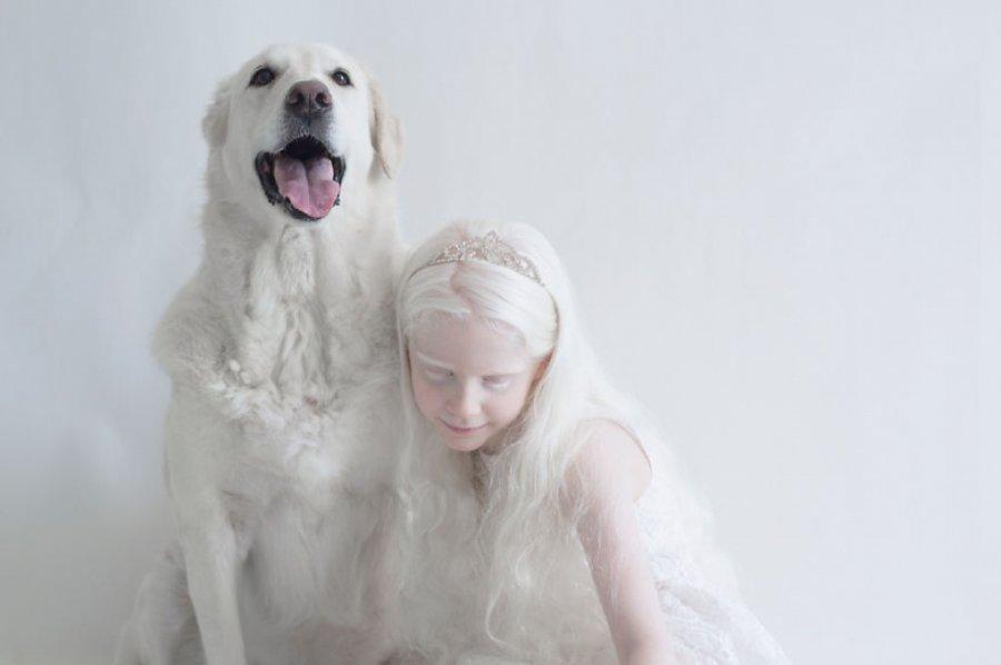 Этот фотограф из Израиля раскрыла неземную красоту людей-альбиносов (10 фото)