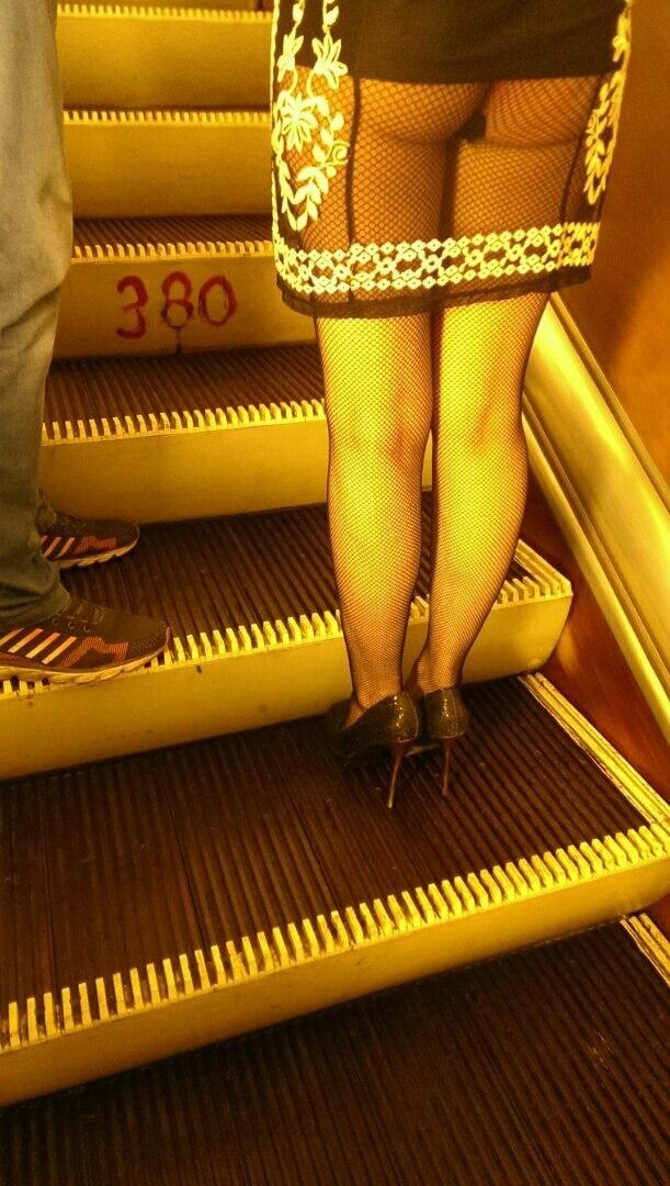 Мода от народа или 19 беспощадных пассажиров российского метро (19 фото)