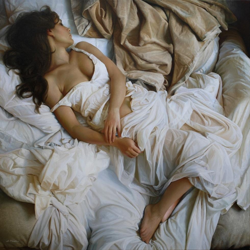 Спать Обнаженной