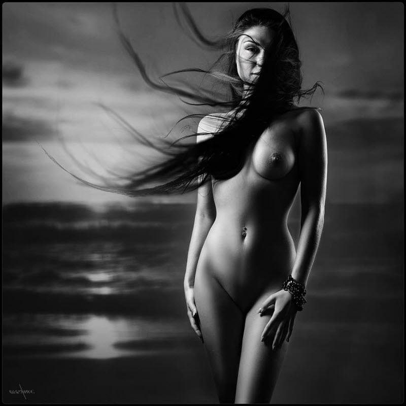 Фото Красивых Черно Белых Постеры Обнаженные