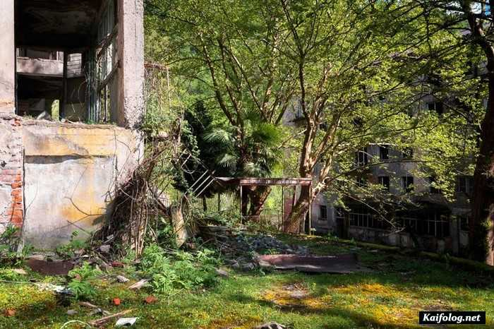 Заброшенные места Абхазии