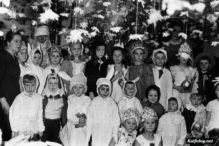 новогодний костюм периода СССР