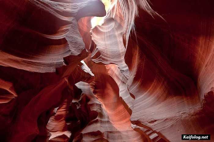 каньон антилопы фото